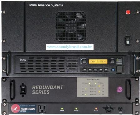 ICOM IAS-100DV PS Repetidora digital IDAS de alta potência